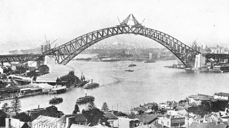 A Single Span was Built Across Sydney Harbour