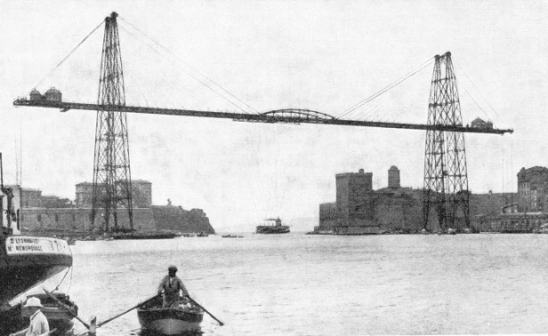The Marseilles Transporter Bridge