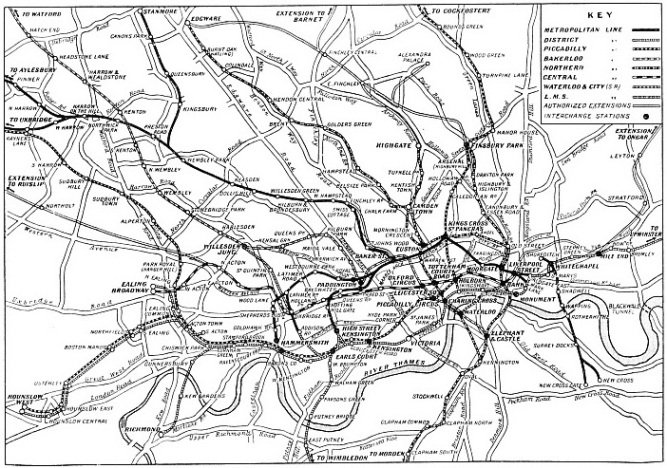 THE UNDERGROUND RAILWAY SYSTEM OF LONDON TRANSPORT