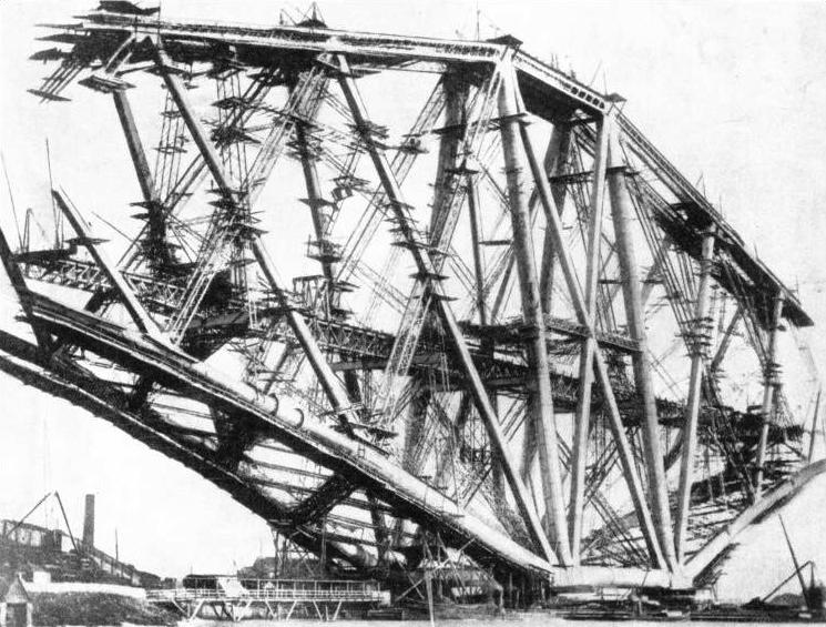 The Fife Cantilever of the Forth Bridge