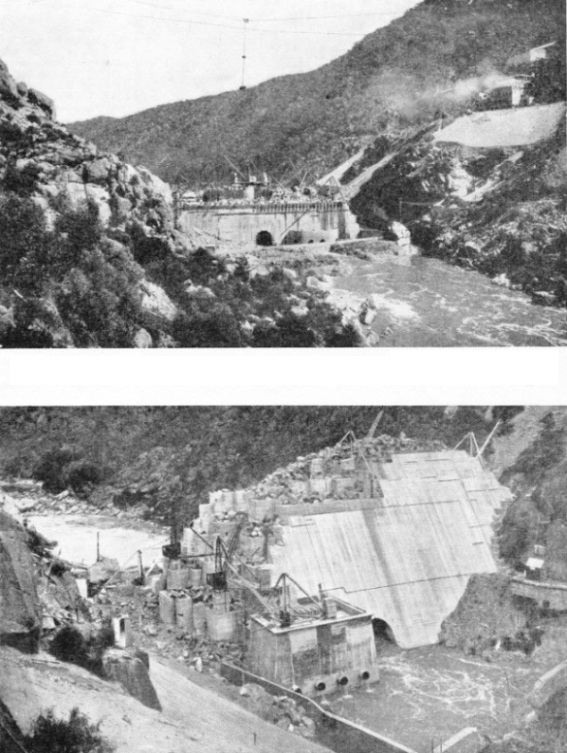 Building the Burrinjuck Dam