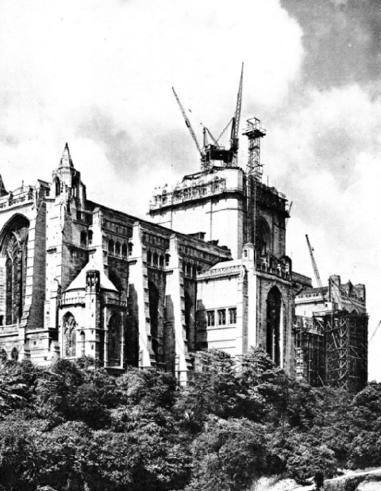 LIVERPOOL CATHEDRAL as seen from the north
