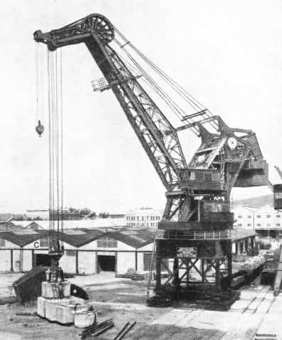 THE LEVEL-LUFFING JIB CRANE