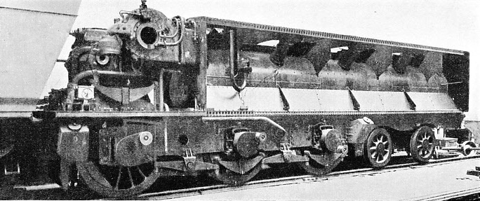 THE CONDENSER VEHICLE of the Beyer Peacock turbine engine