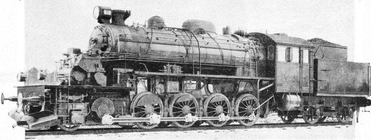 Turbine driven locomotive