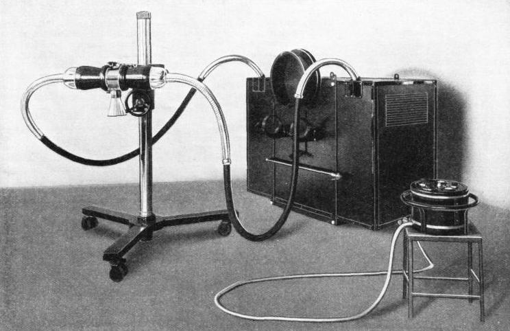 INDUSTRIAL EQUIPMENT for the production of X-rays