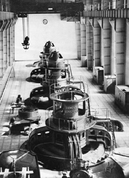 Generators at Ardnacrusha Power Station
