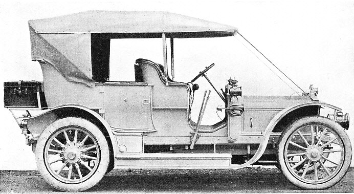 The First Austin Car