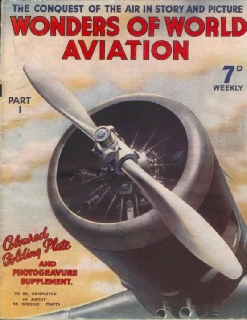 Cover of the first issue of Wonders of World Aviation