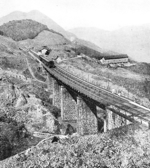 ON THE NEW SIERRA INCLINE. Viaduct No. 13
