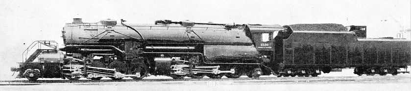 COMPOUND ARTICULATED LOCOMOTIVE built at Roanoke, Virginia, for the Norfolk and Western Railway