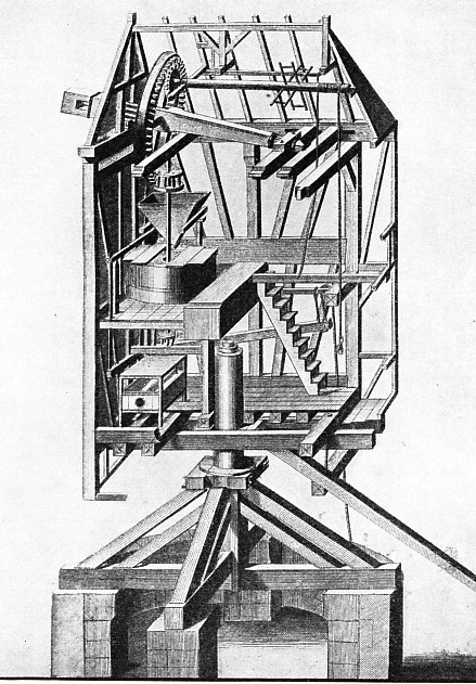 Section of a Post Mill