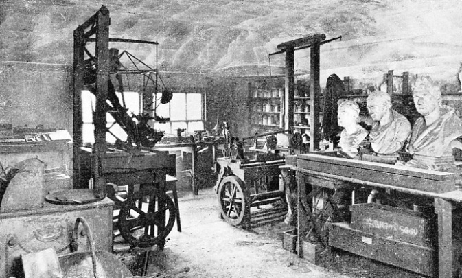 INTERIOR OF THE WORKSHOP of James Watt