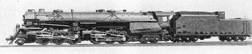 2-6-0 + 0-6-4 SIMPLE ARTICULATED LOCOMOTIVE built for the Norfolk and Western Railway