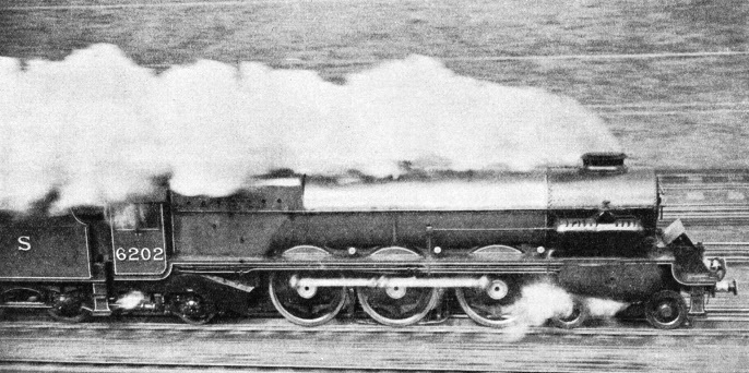 A British Turbine-Driven Locomotive