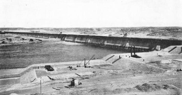 The Aswan Dam was built in 1899-1902
