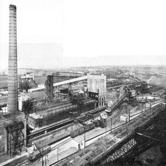 THE BECKER 47-OVENS BATTERY and by-product recovery plant in the Normanby Park Works at Scunthorpe