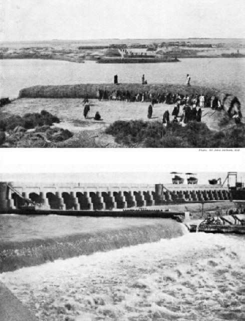 Building the Hindiya Barrage
