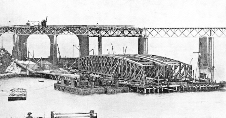 GIRDERS FOR THE CENTRAL SPANS of the new Tay bridge