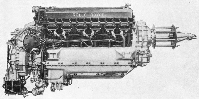 The Rolls-Royce Kestrel Engine