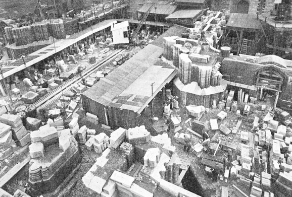 THE MASONS' YARD at Liverpool Cathedral