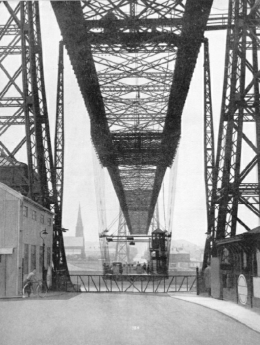 The Runcorn Transporter Bridge