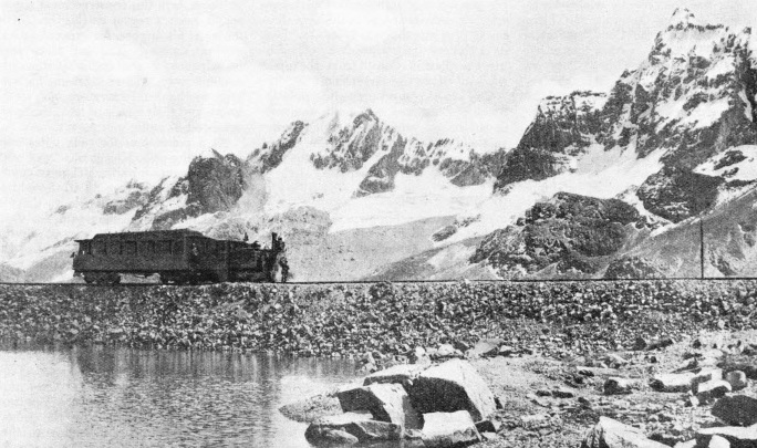 ON A BRANCH OF THE PERUVIAN CENTRAL RAILWAY, near Morococha