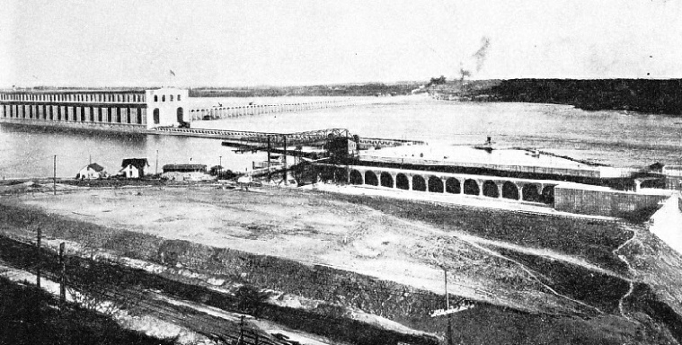 The Dam at Keokuk, Iowa