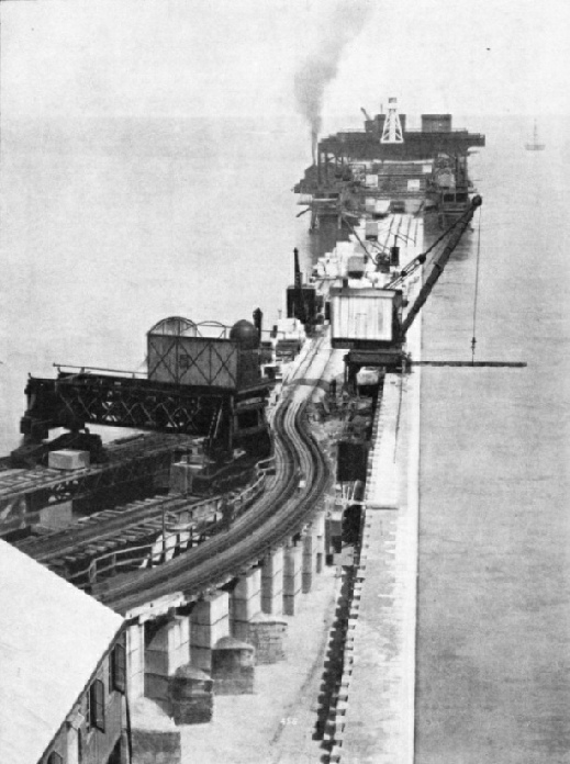 Extending the Admiralty Pier, Dover