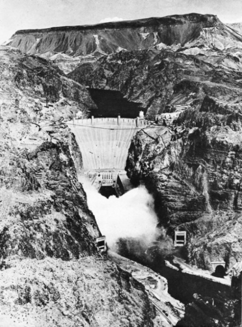 The Boulder Dam - the task completed