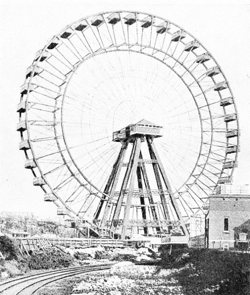 THE BIG WHEEL dominated the Earl's Court Exhibitions in London before the war of 1914—18