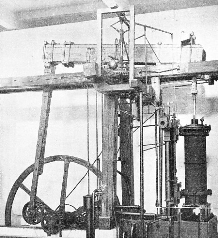 ROTATIVE BEAM ENGINE, built in 1797 by Boulton and Watt