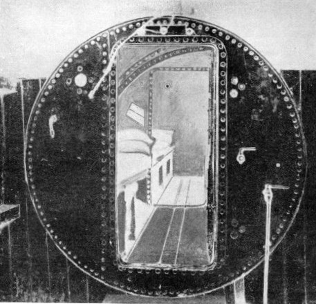 DECOMPRESSION CHAMBER designed by Sir Ernest Moir