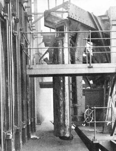THE COKE OVEN DOOR LIFTING MACHINE