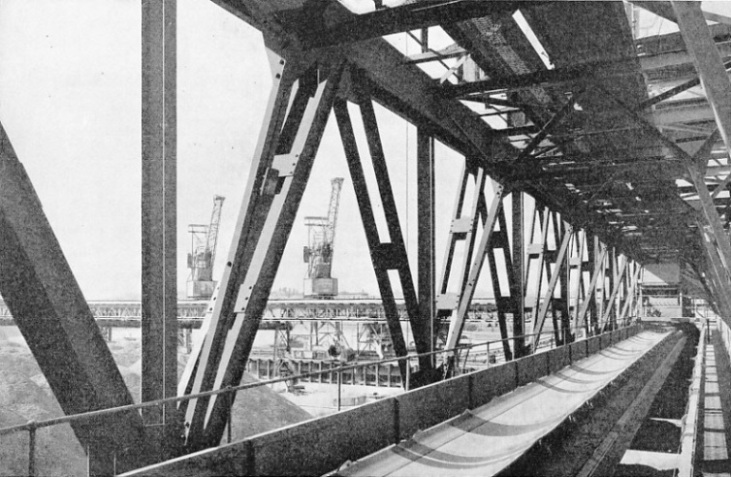 The coal conveyer belt at Battersea Power Station