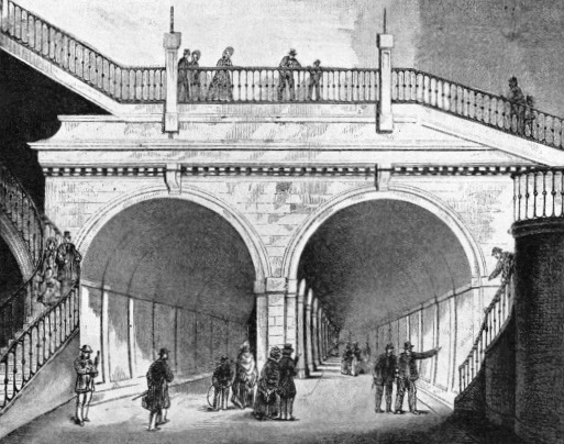 The Completed Thames Tunnel