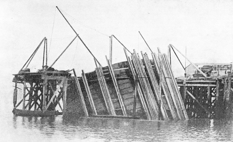 An accident to one of the caissons of the Forth Bridge