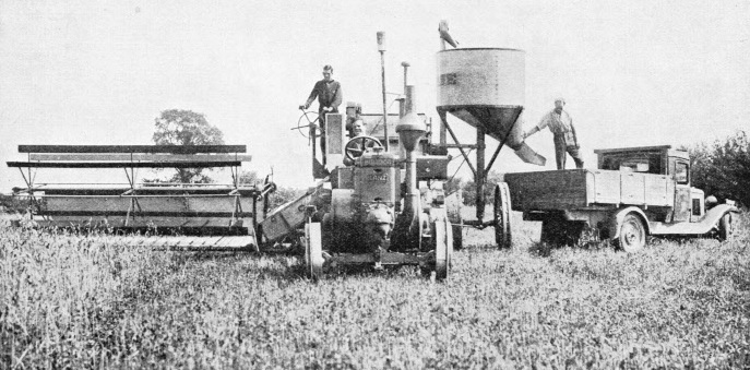 Combined Harvester and Thresher