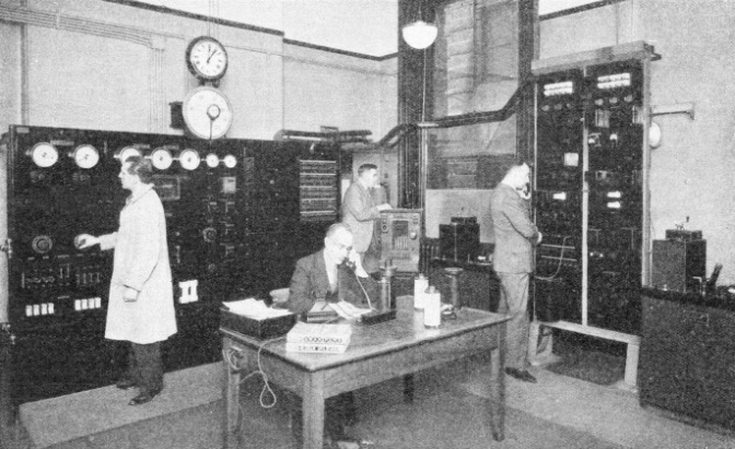 The Picture Transmission Room at the Central Telegraph Office