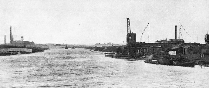 The Manchester Ship Canal