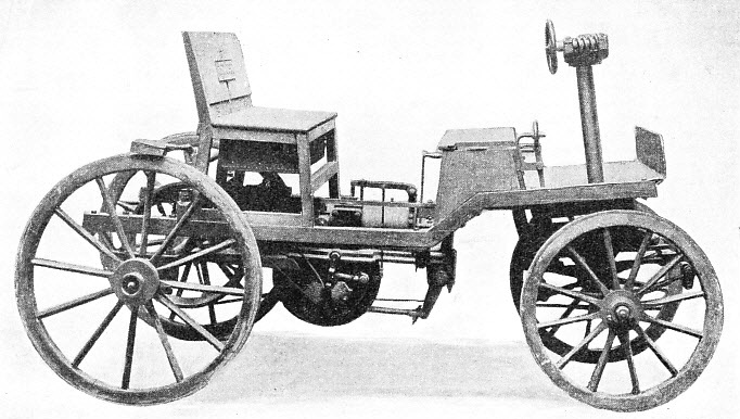 One of the First Petrol-Driven Cars