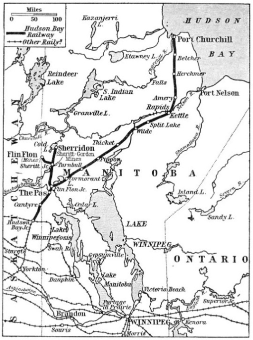 The Hudson Bay Railway