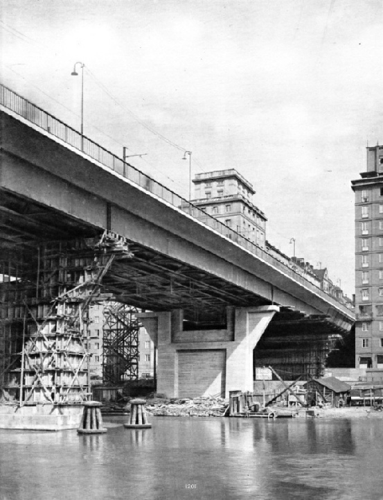 the St Erik Bridge, Stockholm