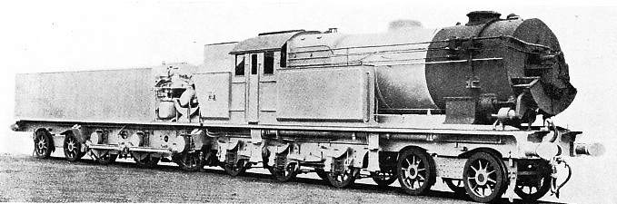 LJUNGSTROM TURBINE LOCOMOTIVE, built by Beyer Peacock & Co, Ltd, at the Gorton Foundry