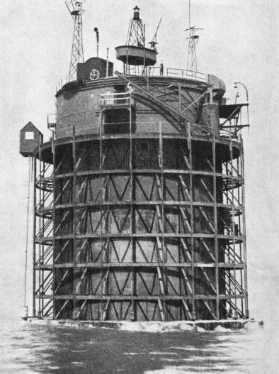 THE NAB TOWER was originally one of the mystery towers built at Shoreham-by-Sea, Sussex, during the war of 1914-18